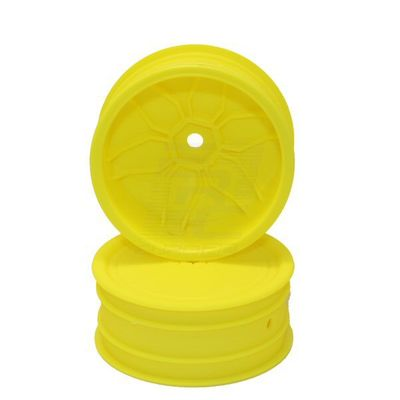 Louise Yellow Rim TeamC / Kyosho HEX 12mm 4WD Front (2)