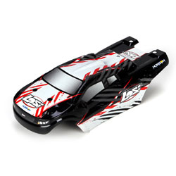 Team Losi Micro Truggy Body Set, Black