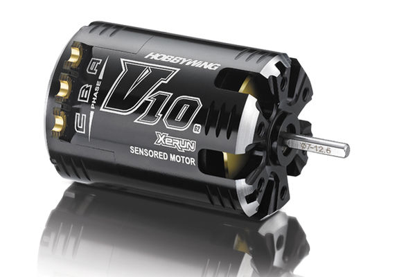 Hobbywing XERUN V10 G2 Competition Motor 5.5t - Black