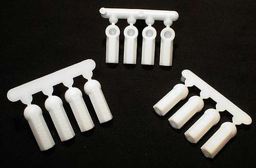 RPM Heavy Duty Rod Ends (12) White