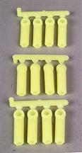 RPM Long Shank Rod Ends (12) Yellow