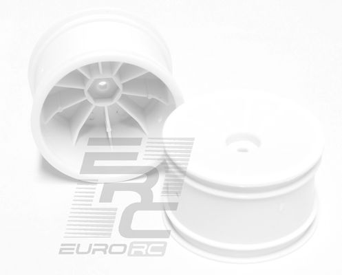 TeamC 2WD Rear Rim White (2)