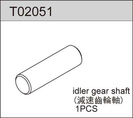 TeamC Idler Gear Shaft
