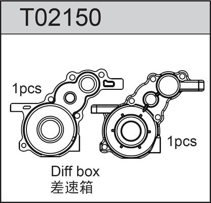 TeamC Diff Box For Gear Diff