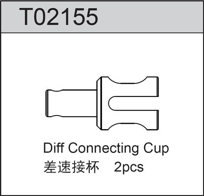 TeamC Diff Connecting Cup For Gear Diff (2)