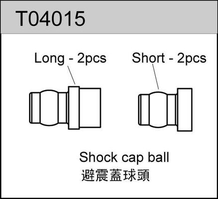TeamC Shock Cap Ball