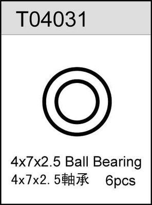 TeamC 4X7X2.5 Ball Bearing (6)