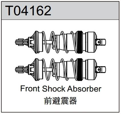 TeamC Front Shock Absorbers (2) TM4