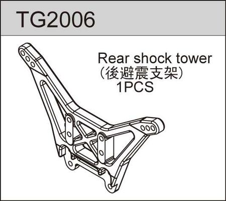 TeamC Rear Shock Tower