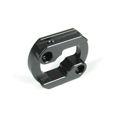 Tekno Motor Mount Insert Aluminum - Gun Metal - Lightened