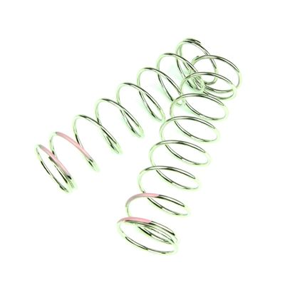 Tekno Shock Spring Set 1.6 x 9.0T - 80mm - pink - 4.80 lb/in