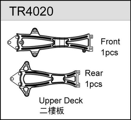 TeamC Upper Deck (F/R)