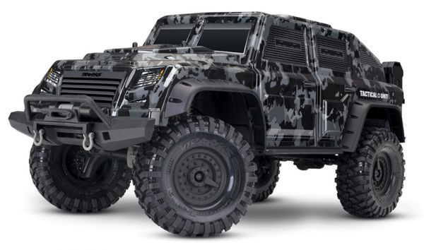 Traxxas TRX-4 Tactical Unit Trail Crawler RTR w/o battery & charger