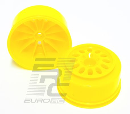 TeamC Short Course Rim Set Yellow