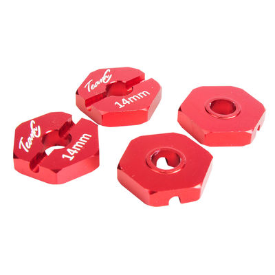 TeamC 14mm Hex - Red (4)