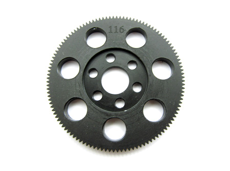 Zeppin Racing CNC Machined Spur Gear 104T 64pitch For Xray