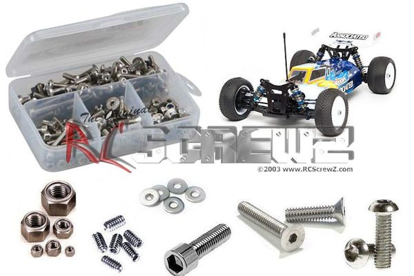 RCScrewZ Stainless Steel Screw Kit - Associated B44.3
