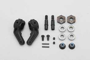 Yokomo 12mm HEX Wheel Hub Conversion Kit (2)