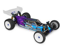 "JConcepts B5M ""S2 Worlds"" Body W/6.5"" Finnisher Wing (Clear) (Light Weight)"