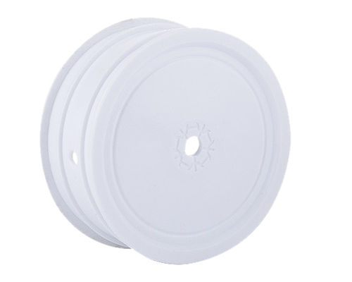 Louise White Rim TeamC / Kyosho HEX 12mm 4WD Front (2)