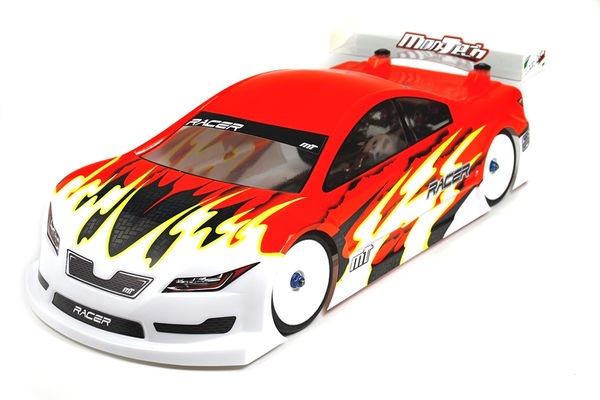 Mon-Tech Racing  1:10 Racer La Leggera Touring Car Clear Body - 190MM - LightWeight