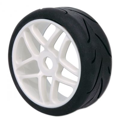 Hobbypro 1:8 Rally Tyre set With Rim (Mounted)  (2)