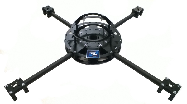 EuroRC 530mm Quad Frame Kit