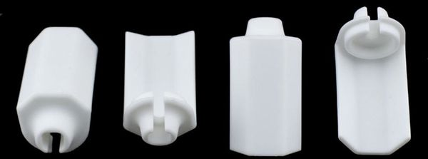 RPM Shock Shaft Guards (Traxxas and Durango) (White) (4)