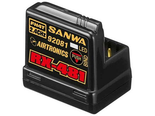 Sanwa RX-481 Receiver With Internal Antenna