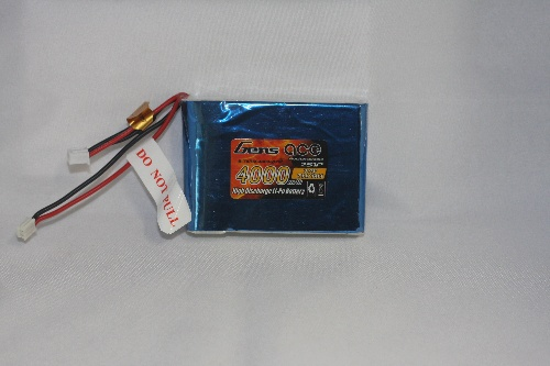 Gens ace 4000mAh 7.4V RX 2S1P Lipo Battery pack
