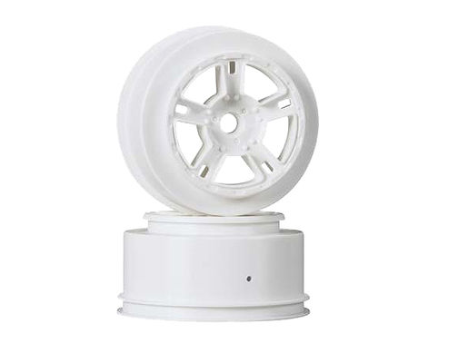 "Louise MAX 2.2""/3.0"" White Rim (For ASSOCIATED SC10 Front) (2)"