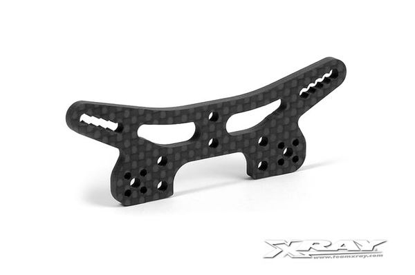Xray  3.0mm Graphite Front Shock Tower - V2