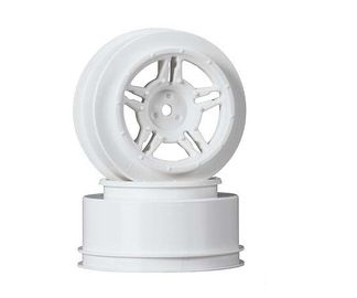 "Louise MAX 2.2""/3.0"" White Rim (For Slash Rear, Slash 4x4 F/R, F/R & Blitz F/R) (2)"