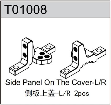 TeamC Side Panel Covers L+R