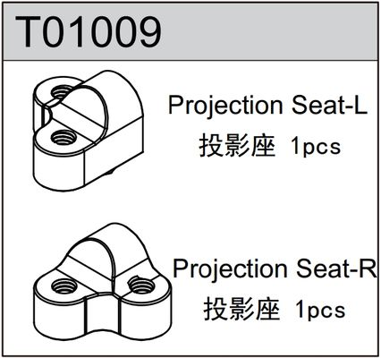 TeamC Projection Seat L+R