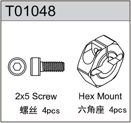 TeamC Hex Mount (4)