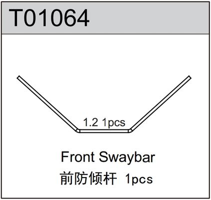 TeamC Front Sway Bar 1.2