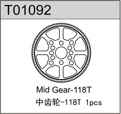TeamC Spur Gear 114T