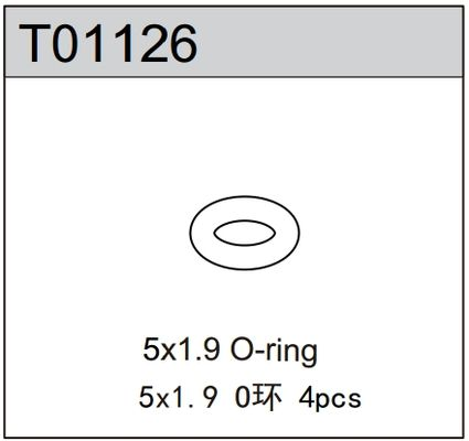 TeamC 5x1.9 O-Ring (4pcs)