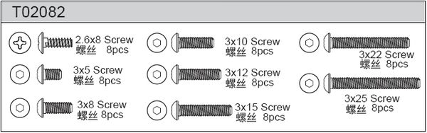 TeamC Screw Set A