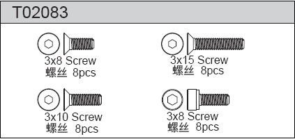 TeamC Screw Set B