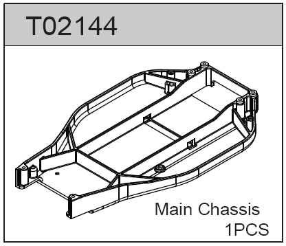 TeamC Evo Chassis (+6mm)