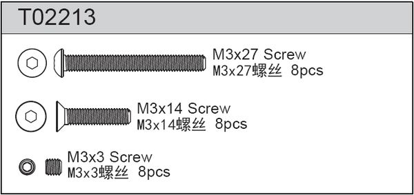 TeamC Screw Set