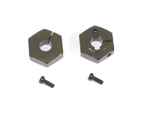 TeamC 14mm Aluminum Hex Mount For TM2 V2 (2)