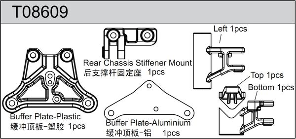 TeamC Buffer Plate Set