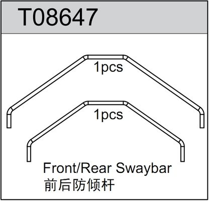 TeamC Front/Rear Swaybar (2)