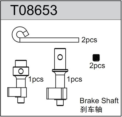 TeamC Brake Shaft