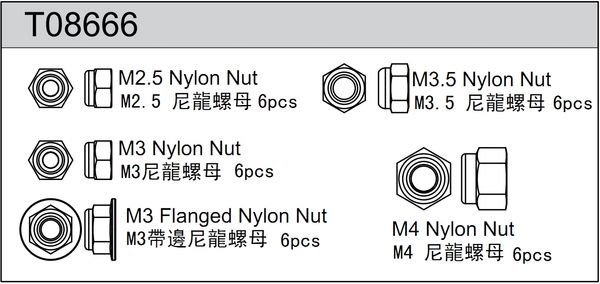 TeamC Nut Set (24)