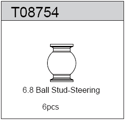 TeamC 6.8 Ball Stud Steering (6)