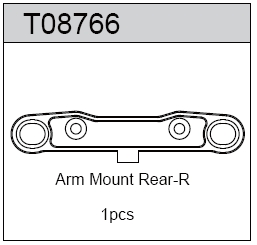 TeamC Arm Mount Rear - R